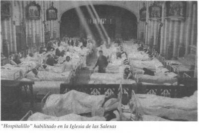 Las mujeres en el cerco de Oviedo