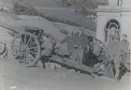 La Artillería en la defensa de Oviedo