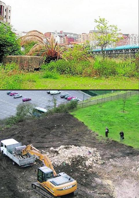 Atentado contra el patrimonio histórico en Oviedo