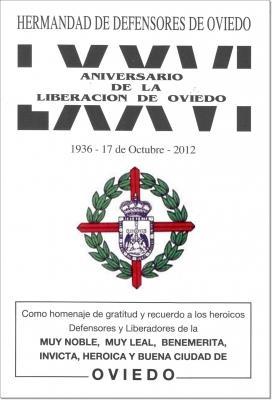 Actos conmemorativos de la Liberación de Oviedo 2012