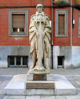Foro pide la reposición de la estatua de Teijeiro