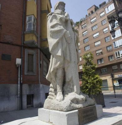 La estatua de Teijeiro volverá a su emplazamiento